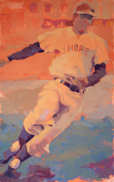 "Susan Cook ""Hope"" oil on canvas, 58x36"