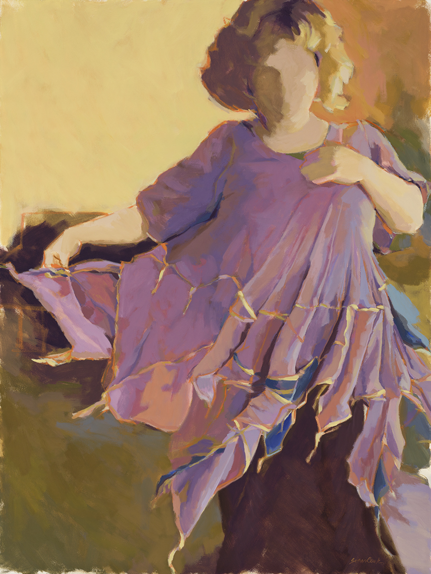 "Susan Cook ""Heart of a Gypsy"" oil on canvas, 40x30"